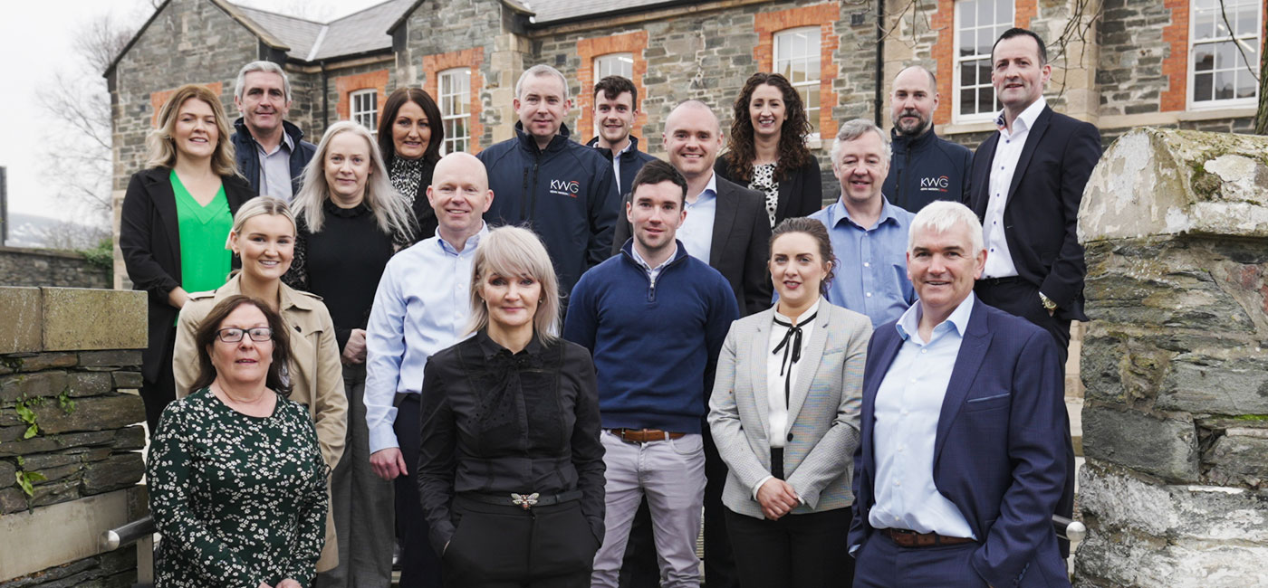 picture of staff at Kevin Watson Group